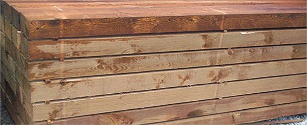 New Treated Timber Sleepers 240 x 20 x 7.5 cm