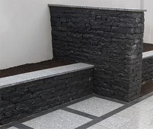 Indian Black Limestone Walling