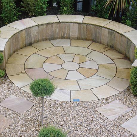Mint Sahara Sandstone Circle