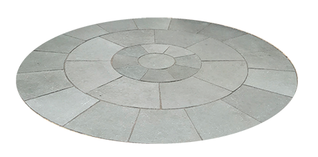 kota blue limestone circle