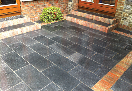 saigon blue limestone paving