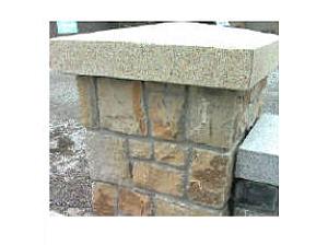 Gold Granite Apex Style Pier Cap