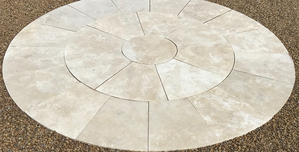 Travertine Circle