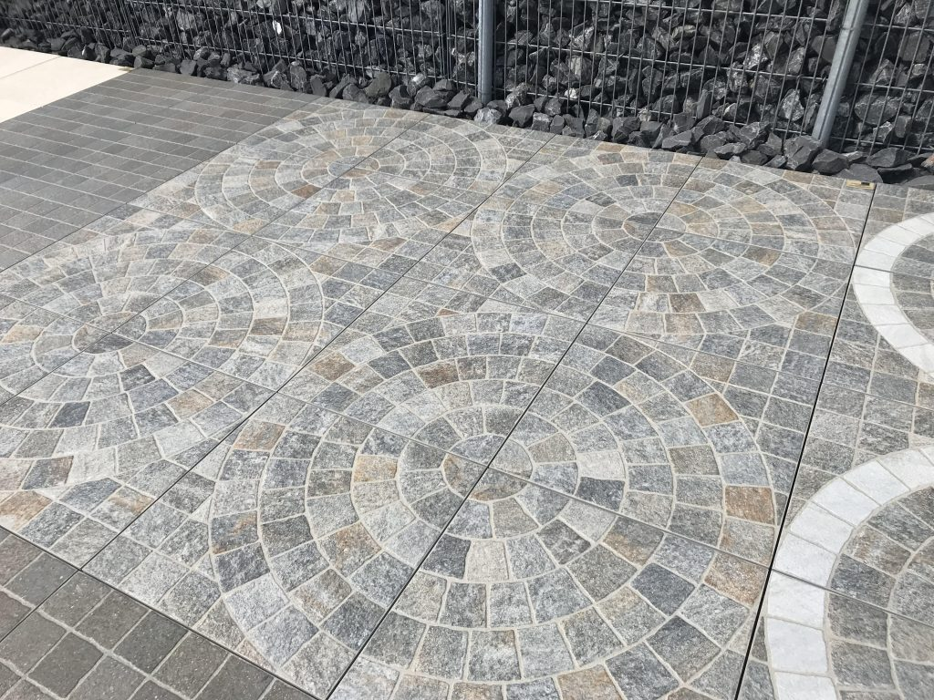 Cubetti Luserna Circle 60x60x2cm