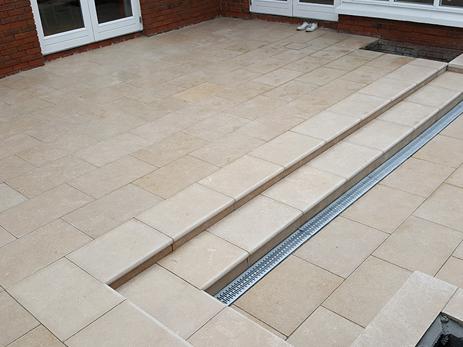 sinai pearl egyptian limestone step