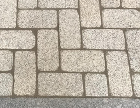 Portuguese Tumbled Gold Granite Cobble Available in 20x10x5cm