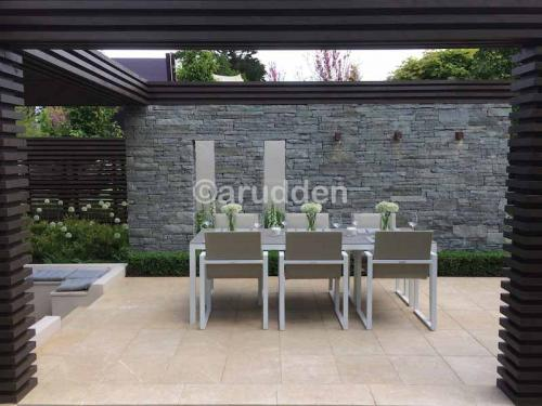 Alan Rudden Bloom Show Garden with Sinai Pearl Paving Supplied by Natural Stone yard