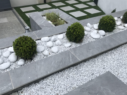 White-Marble-Chippings--White-Cobbles-Always-Available-to-Compliment-Porcelain-To-Perfection