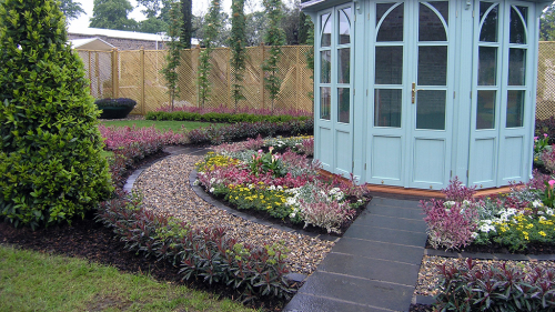 Black Limestone Used By Owen Chubb Landscapes