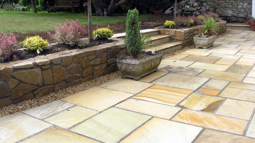 Mint Sahara Sandstone Used By Owen Chubb Landscapes