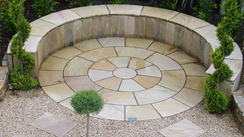 Mint Sahara Sandstone Used by Stonescapes