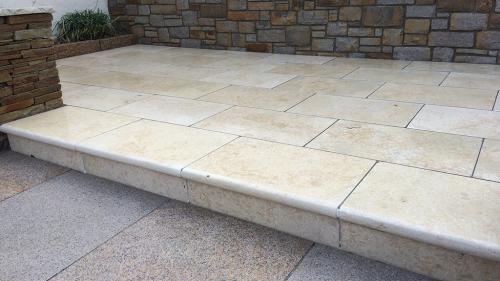 Menya Egyptian Limestone Step